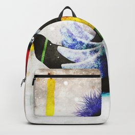 Ugly dukling -Winter 2018 - NewYear 2019 - Snowing Aurora Borealis Backpack