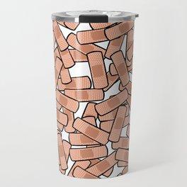 Bandage - Healing Power - On the Mend Travel Mug