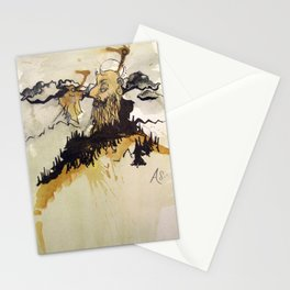 Man of the Mountain Stationery Cards