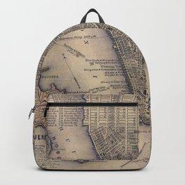 Lower Manhattan New York City Backpack