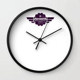Portsmouth Aeroshipbuilding Co. Wall Clock