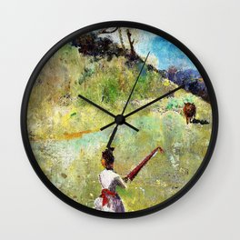 The Fatal Colours - Digital Remastered Edition Wall Clock
