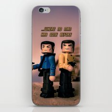 ...Where no man has gone bofore iPhone & iPod Skin
