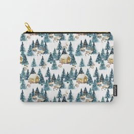 Winter village Carry-All Pouch