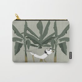Piping Plover & Botanical Illustration Art Series Carry-All Pouch