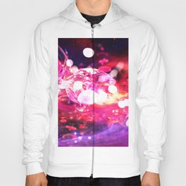 Space Flowers Hoody