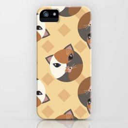 Lady cat iPhone Case