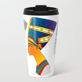queen of ancient Egypt Travel Mug