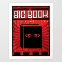 Propaganda Inspired Book Poster Art Print