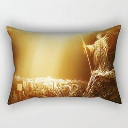 The Holy City Rectangular Pillow