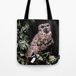 Handsome Hooter Tote Bag