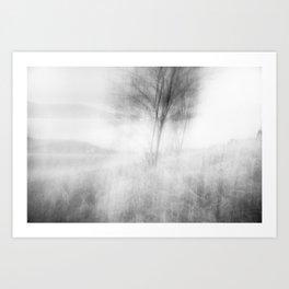 when the wind woke Art Print