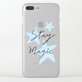 Stay magic Clear iPhone Case