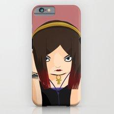 Black Rose Love iPhone 6s Slim Case