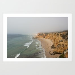 Algarve Beach Art Print