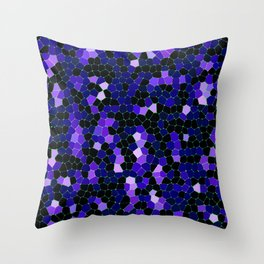 Mosaic Texture G49 Throw Pillow