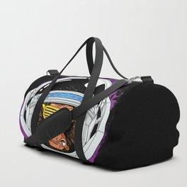 Vintage Space Monkey Duffle Bag