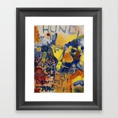 Behaviour analysis Framed Art Print