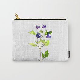 Clematis Cartoon Carry-All Pouch