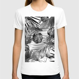 Tropical Jungle Leaves Siesta #4 #tropical #decor #art #society6 T-shirt