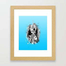 Comes from the Heart Framed Art Print