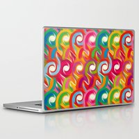 ikat Laptop & iPad Skins featuring Ikat by Helene Michau