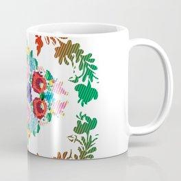 Hungarian 'matyo' folklore styled artwork Coffee Mug