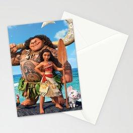 Moana 3 Stationery Cards