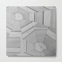 Interconnection Uncertainty Metal Print