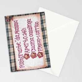 Mamma's Restaurant Stationery Cards