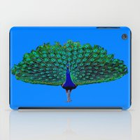peacock iPad Cases featuring Peacock by Crayle Vanest
