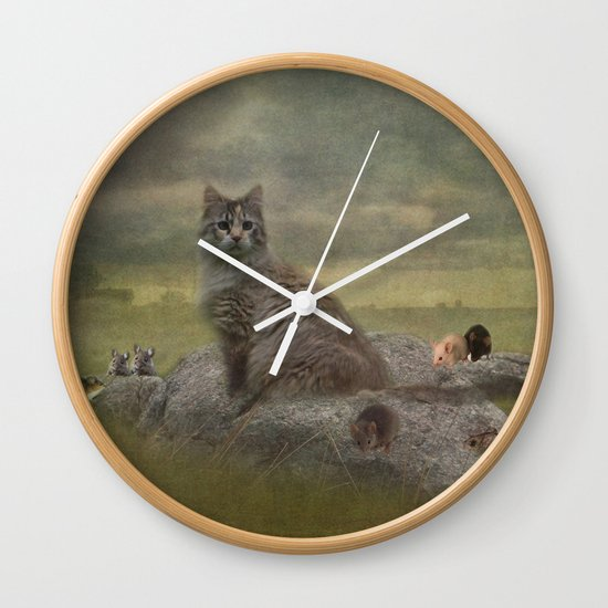 The Mouser Wall Clock