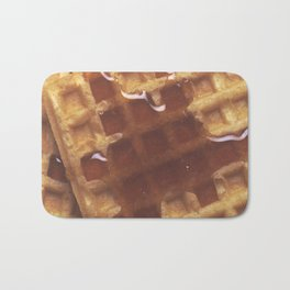 Waffles With Syrup Bath Mat