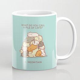 Meowtain - With Text Coffee Mug