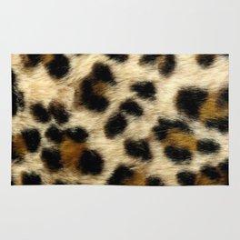 Leopard Print Pattern Animal Print Design Rug