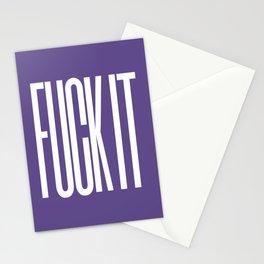 FUCK IT (Ultra Violet) Stationery Cards