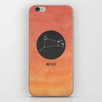 aries iPhone & iPod Skins featuring Aries by snaticky