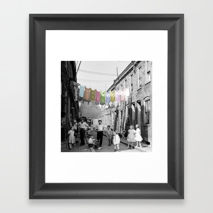 Laundry Day 2 Gerahmter Kunstdruck