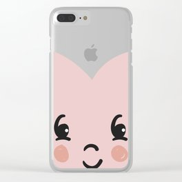 Sheer love Clear iPhone Case