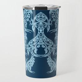 Indian Butterfly Enblem Travel Mug