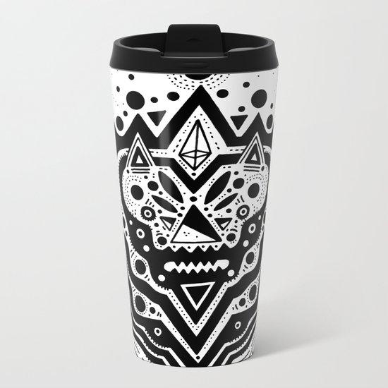 Space Bear Metal Travel Mug
