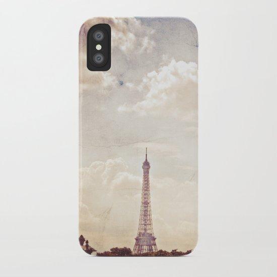 Paris in June iPhone Case