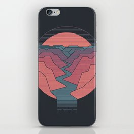 Canyon River iPhone Skin
