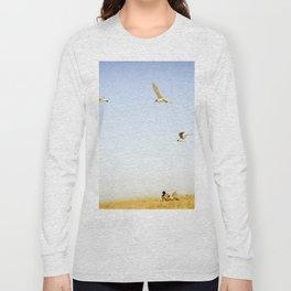 On the beach Portugal Long Sleeve T-shirt