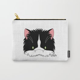 Spoopy Tuxedo Kitty disguise! Carry-All Pouch