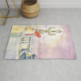 Love In The Rain Rug
