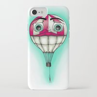 baloon iPhone & iPod Cases featuring Acrophobia Baloon by Tayler Kiiim