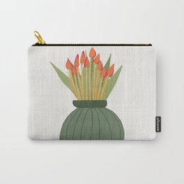 Floral vibes XIV Carry-All Pouch