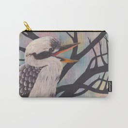 Laugh, Kookaburra Carry-All Pouch
