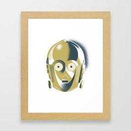Threepio Framed Art Print